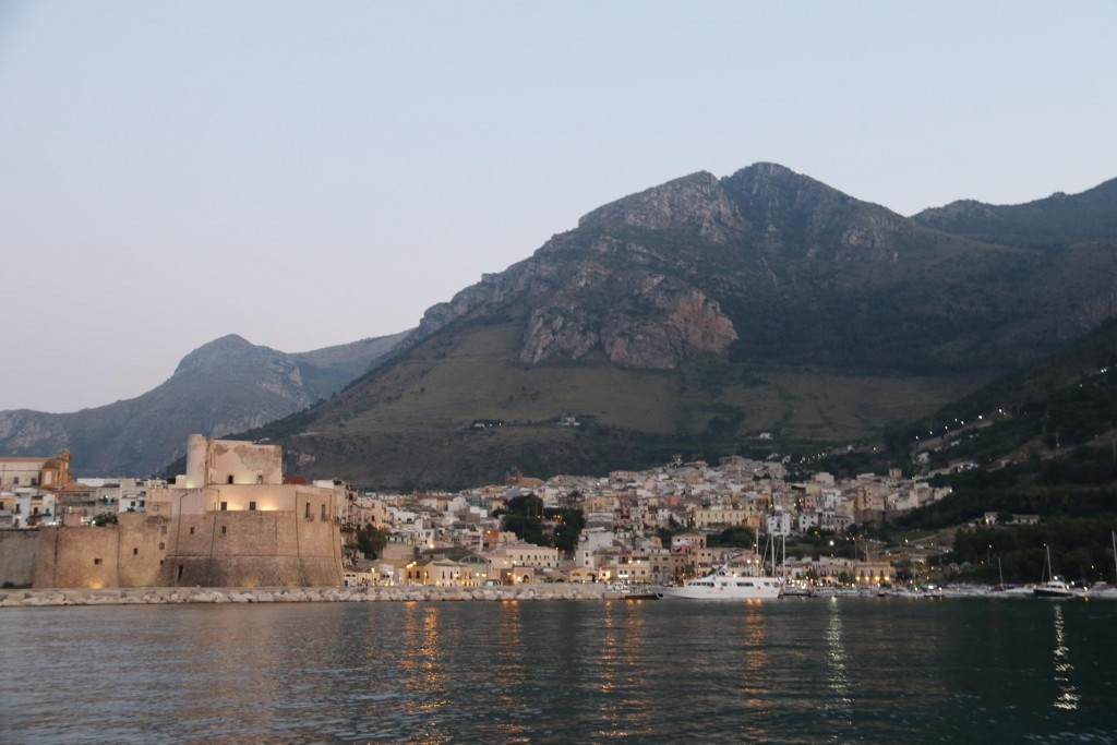 Castellamare del Golfo is an ancient town built on the steep slopes around the bay