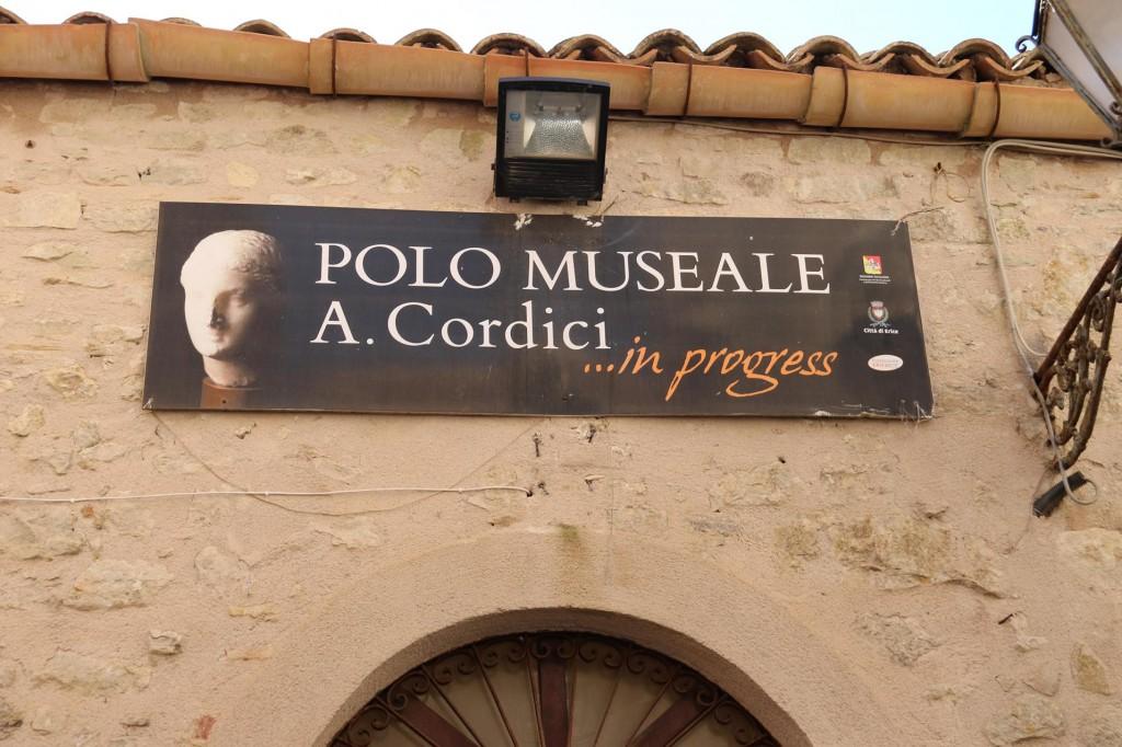 We visit the Cordici Museum