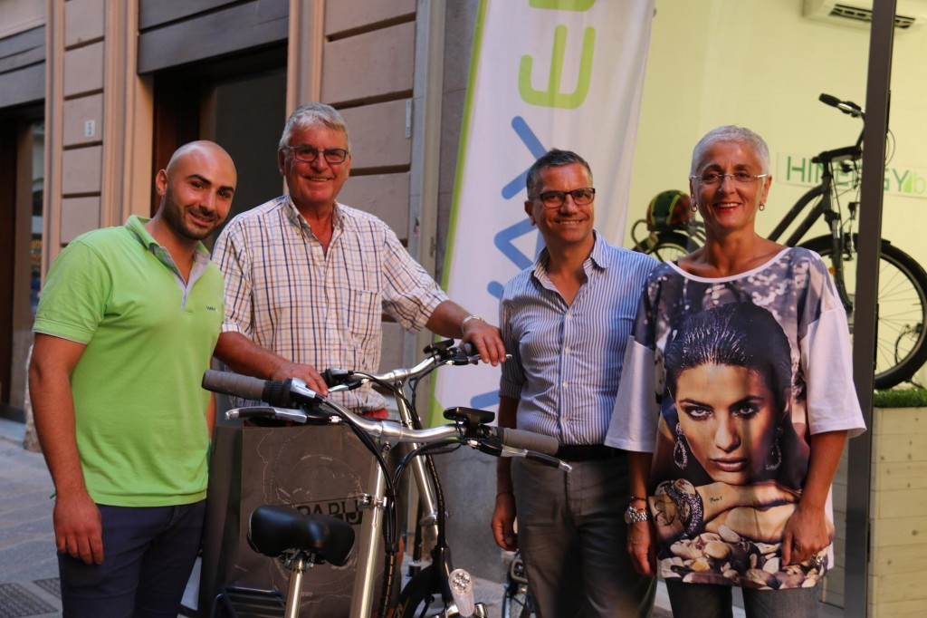 The owners and staff at 'Wayel' in Trapani were very friendly and helpful with our new bike purchases which arrived for collection late afternoon