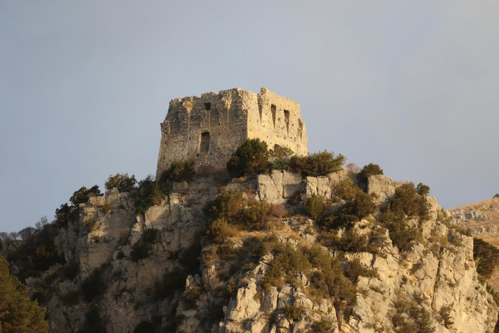 Ancient lookouts are perched on many high points on the coast