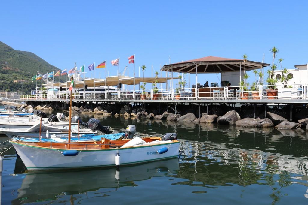 The facilities at the marina look very good