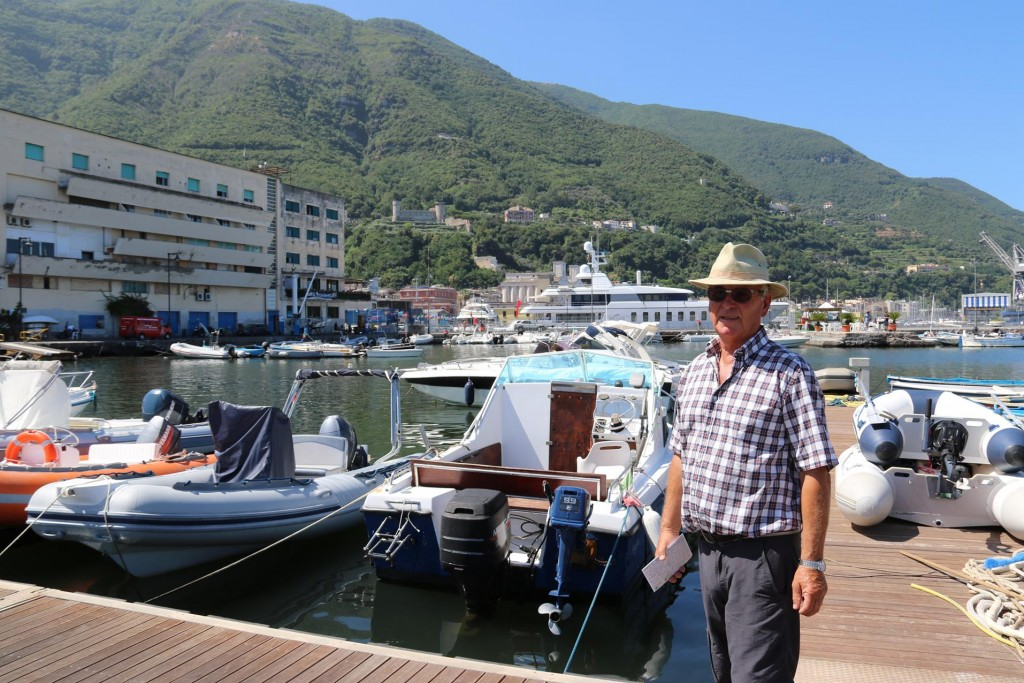 Castellammare di Stabia is the closest port to the ancient site