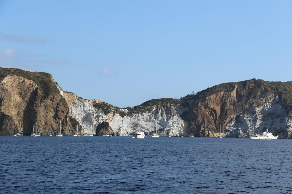 This morning we plan to return to Ischia to see whether our parcel from Australia had arrived