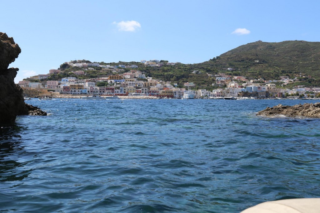 Today we go and explore Ponza town and find a restaurant to have a nice lunch