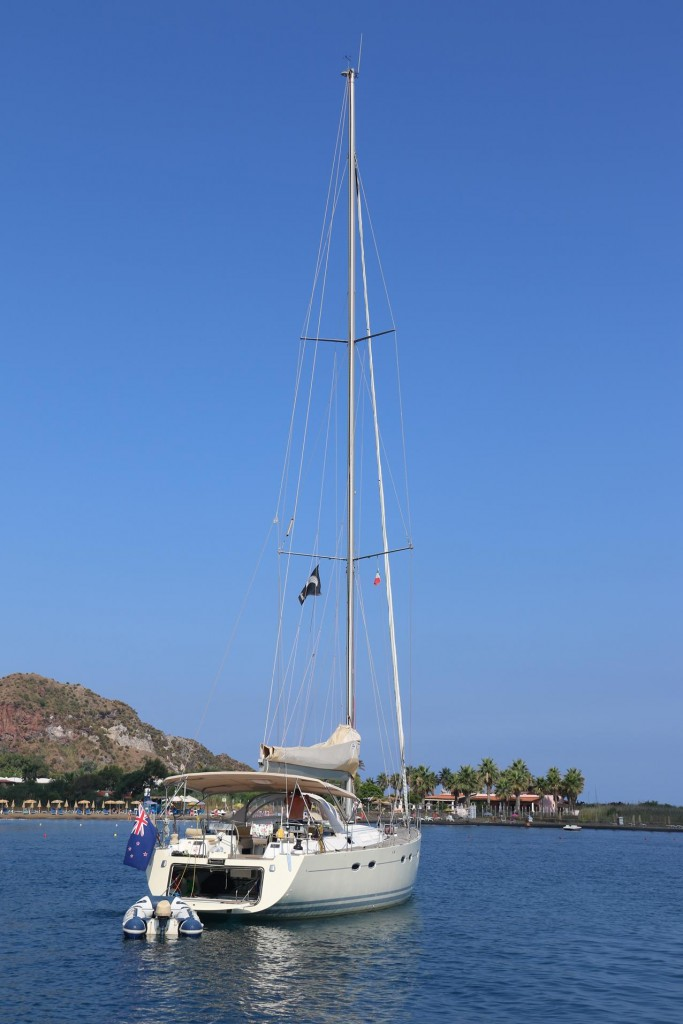 Once again we bid farewell to John our sailing friend from NZ