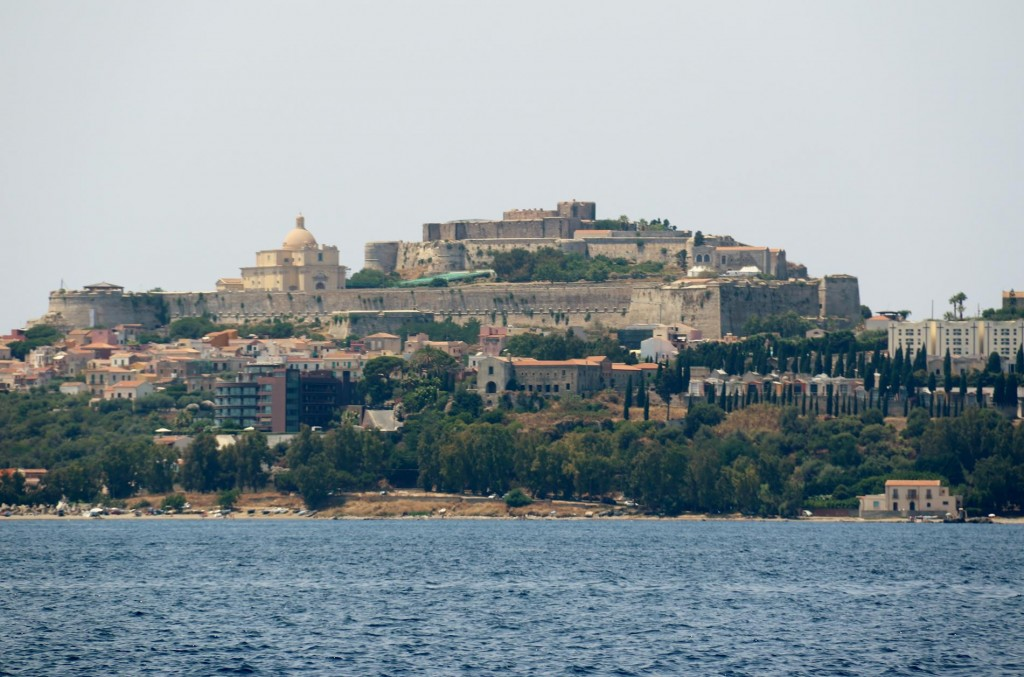 On our next visit we hope to have time to visit the castle in Milazzo