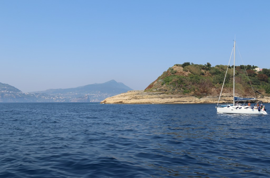 Punta Socciaro on the south east tip of Procida