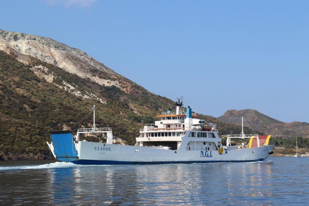 Ferries frequent between the islands and mainland Sicily