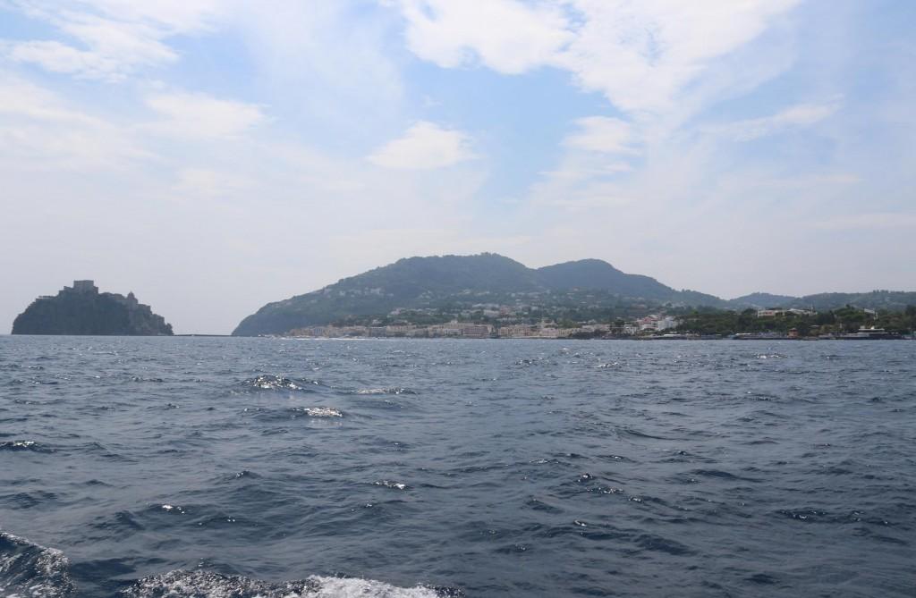 We leave the delightful Procida Island again and head back to Ischia Island