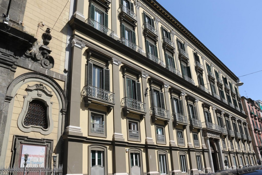 Beautiful old buildings have been transformed into elegant inner city  apartments