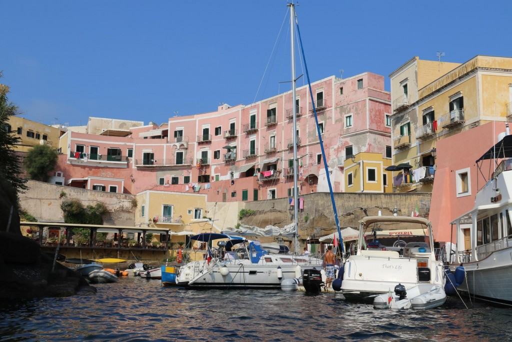 It is very hard to secure a spot in Porto Vecchio