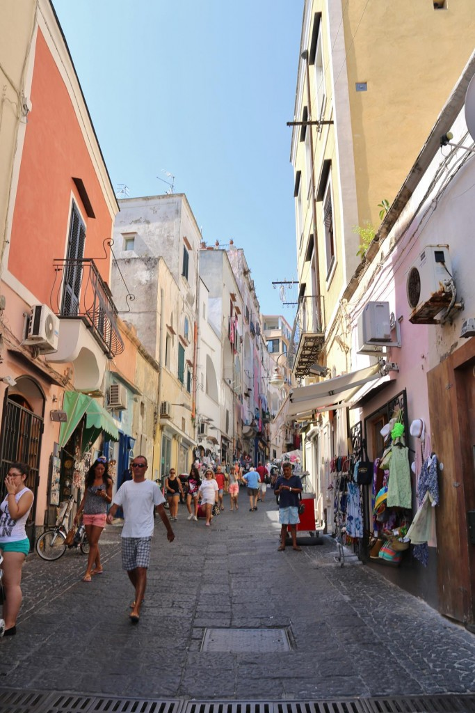 Good shopping in the old town of Sancio Cattolico