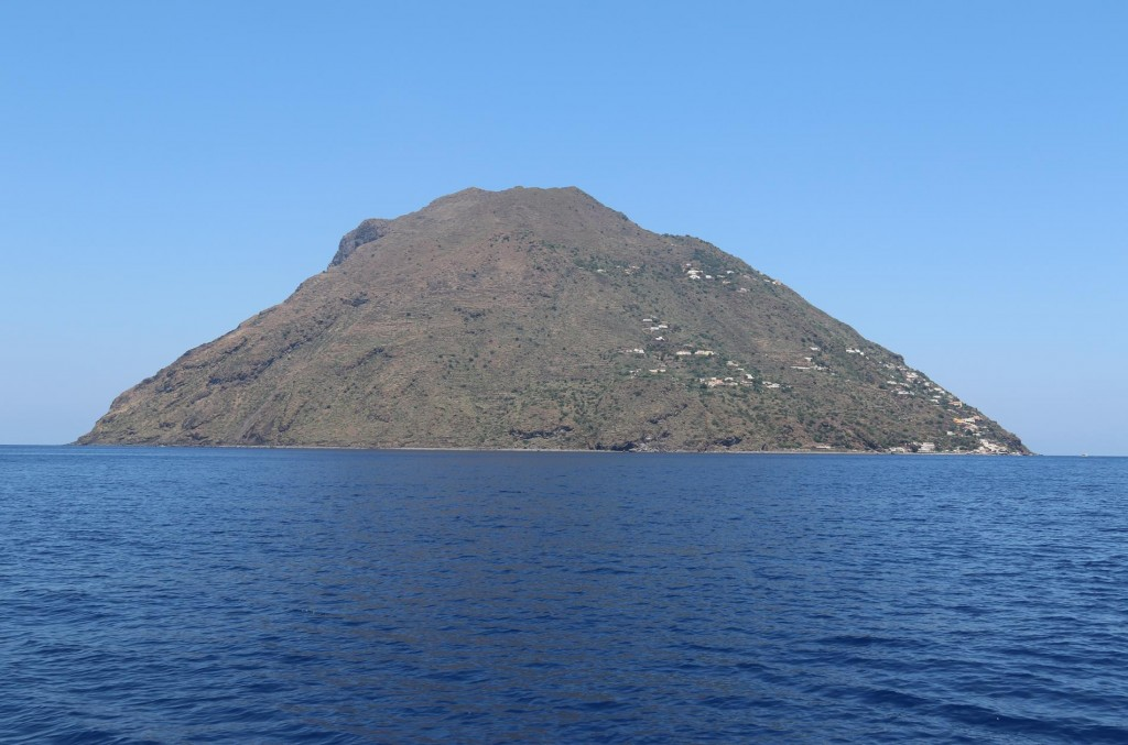 We leave mainland Sicily and head north to the Aeolian Islands