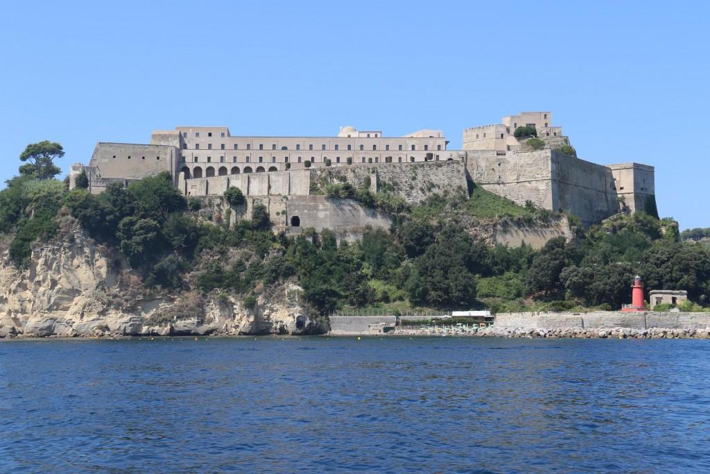 The Fortino Tenaglia looks quite impressive in the gulf
