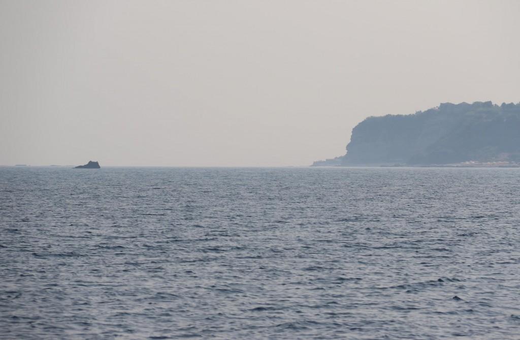Cape Vaticano in the distance