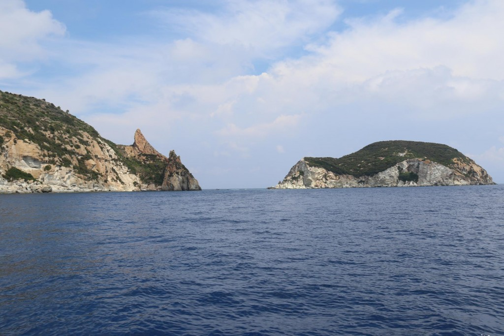 Isola Di Gavi at the northern tip of Ponza