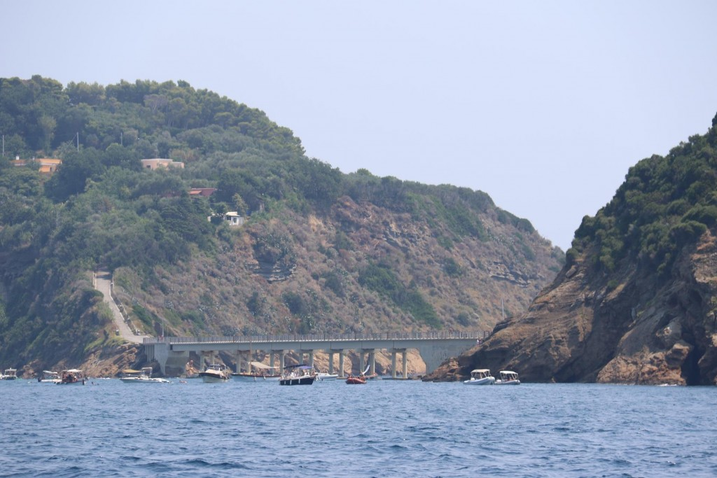 The tiny islet called Vivara is joined to Procida by a bridge