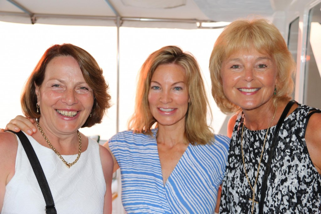 Susie and I with Peter's wife, Michele