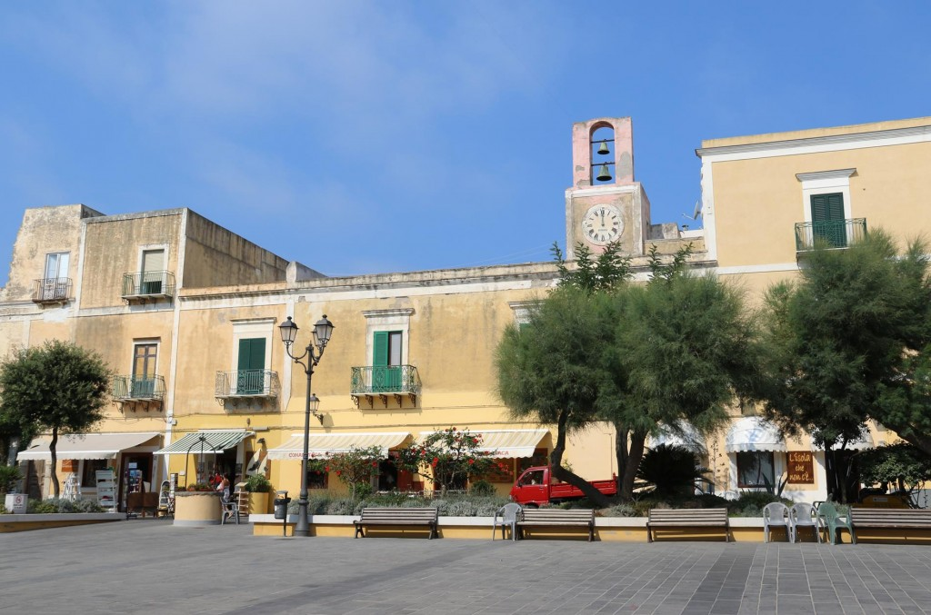 The main square of the town called Piazza Castello