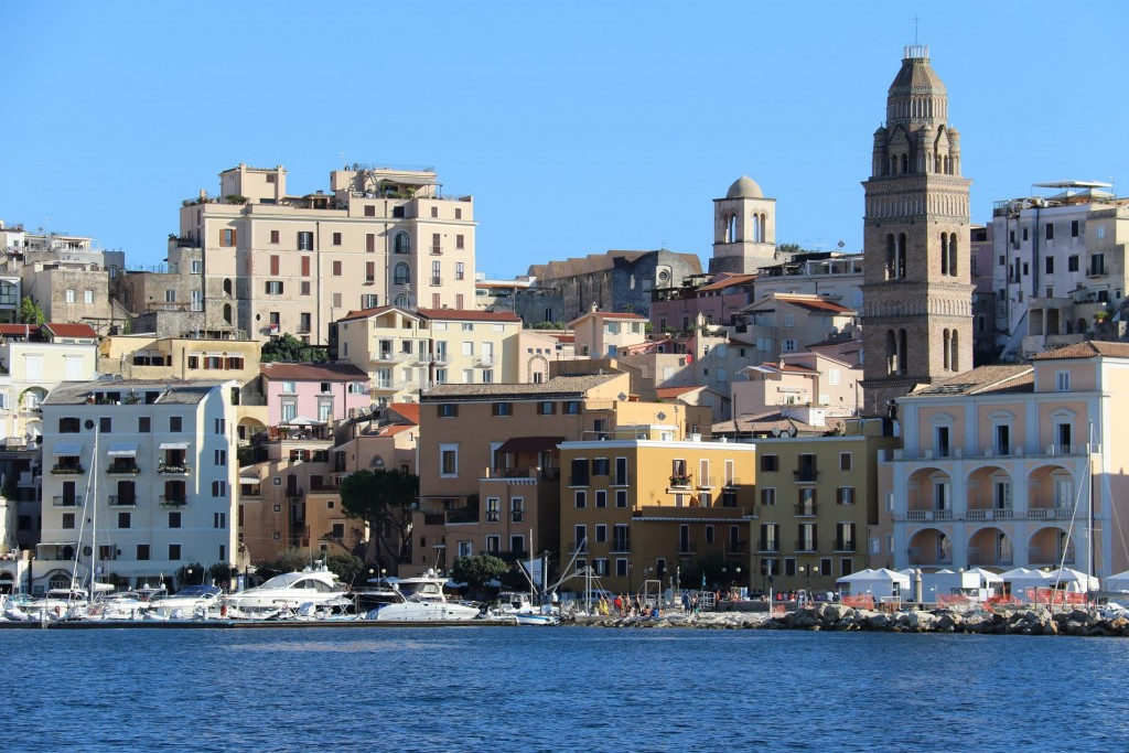 There is also a magnificent belltower and church in Gaeta