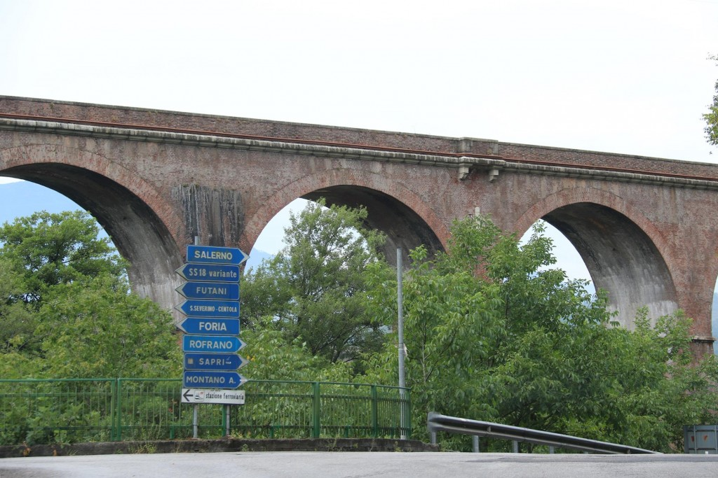 Many viaducts can be seen in this area