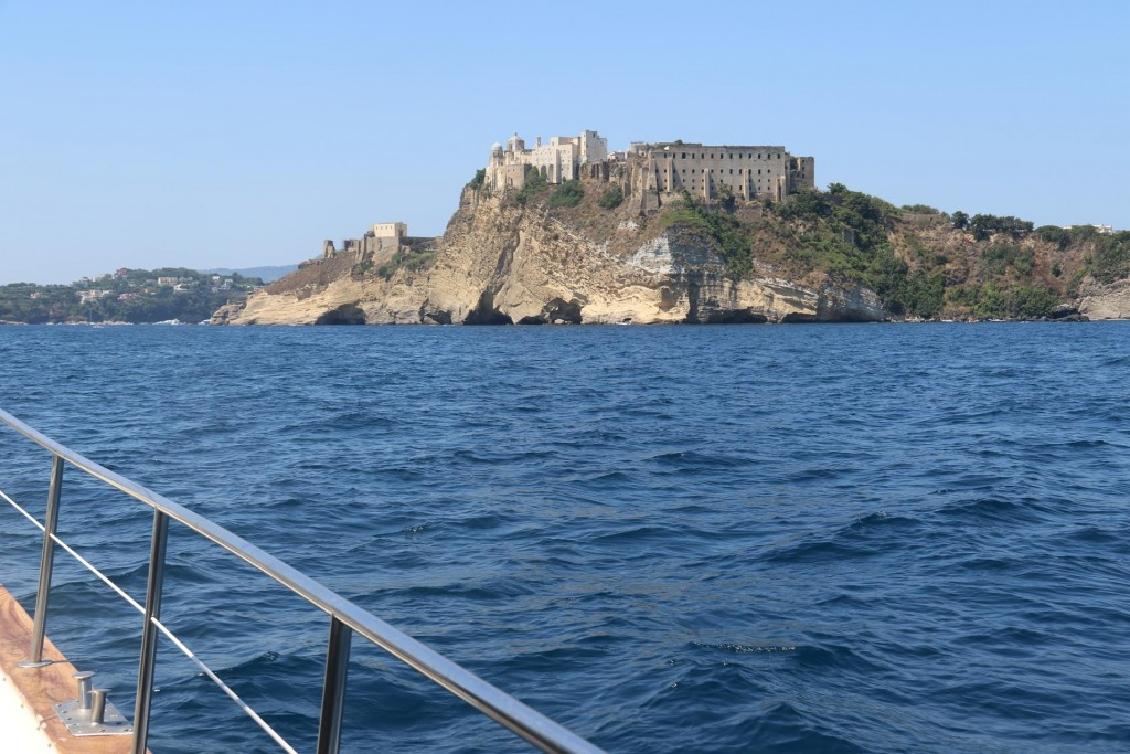 It is not long before we approach Isola Procida