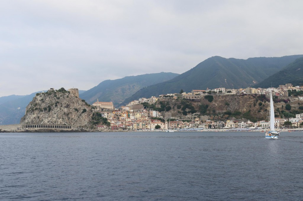 Approaching Scilla from the eastern side