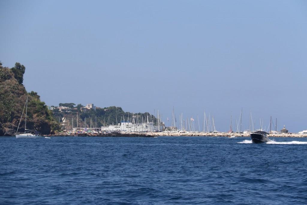 The Marina by Procida town