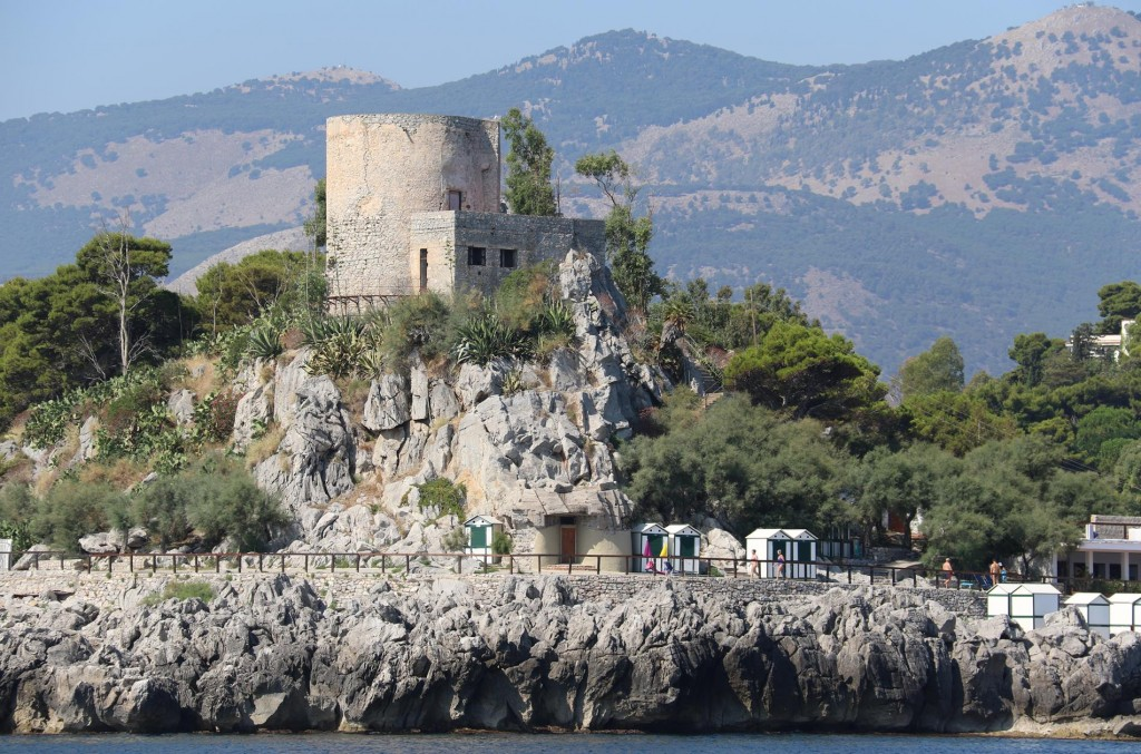 Ancient lookouts can be seen high up on many of the  points along the shores of Sicily