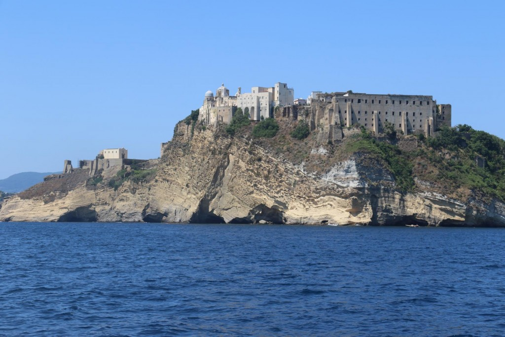 Although Procida has an extremely ancient history the Castello and fort were built in the 1500's