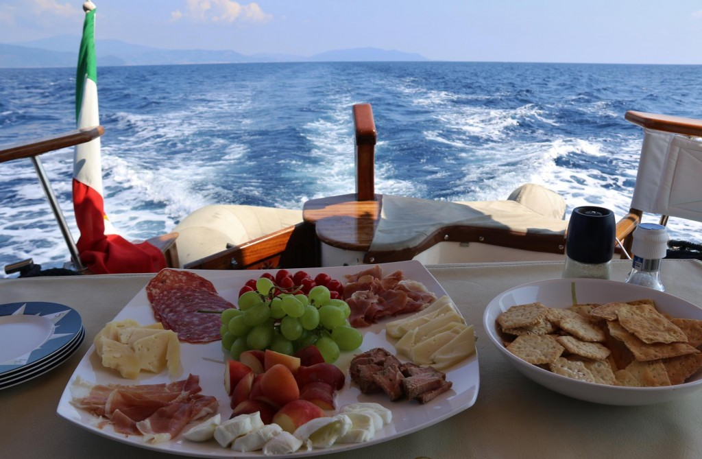 Good Italian lunch on the way