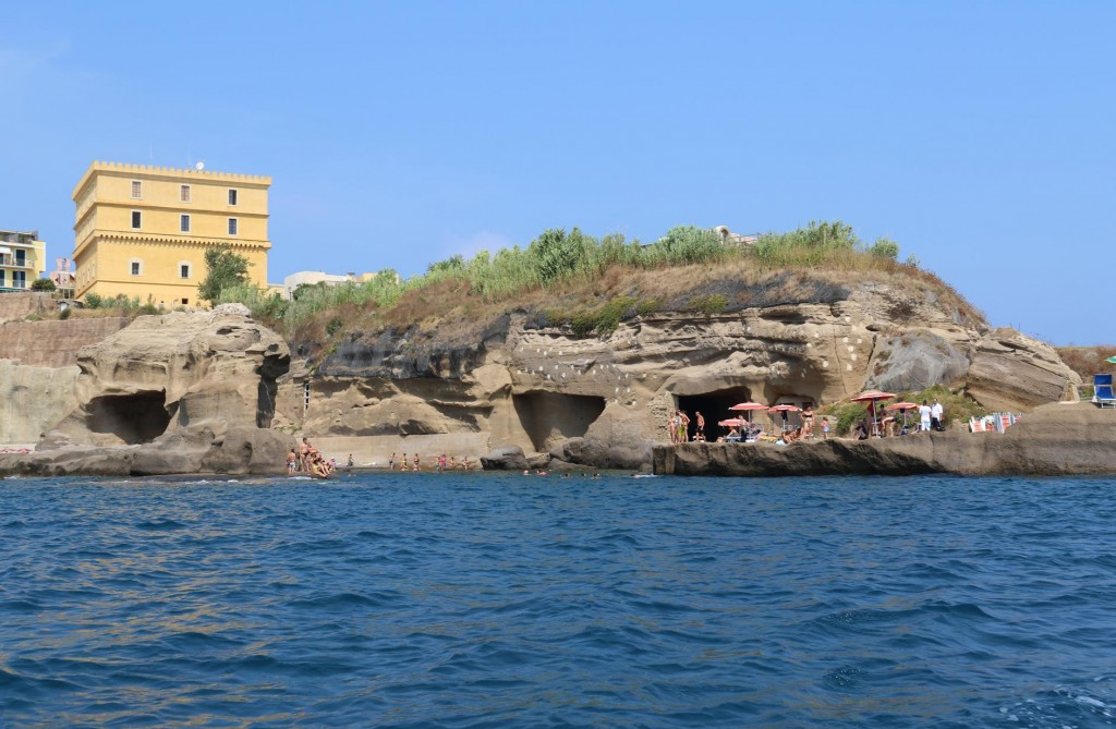 A sophisticated network of underground cisterns from the ingenuity of the Romans still can be seen today on the island