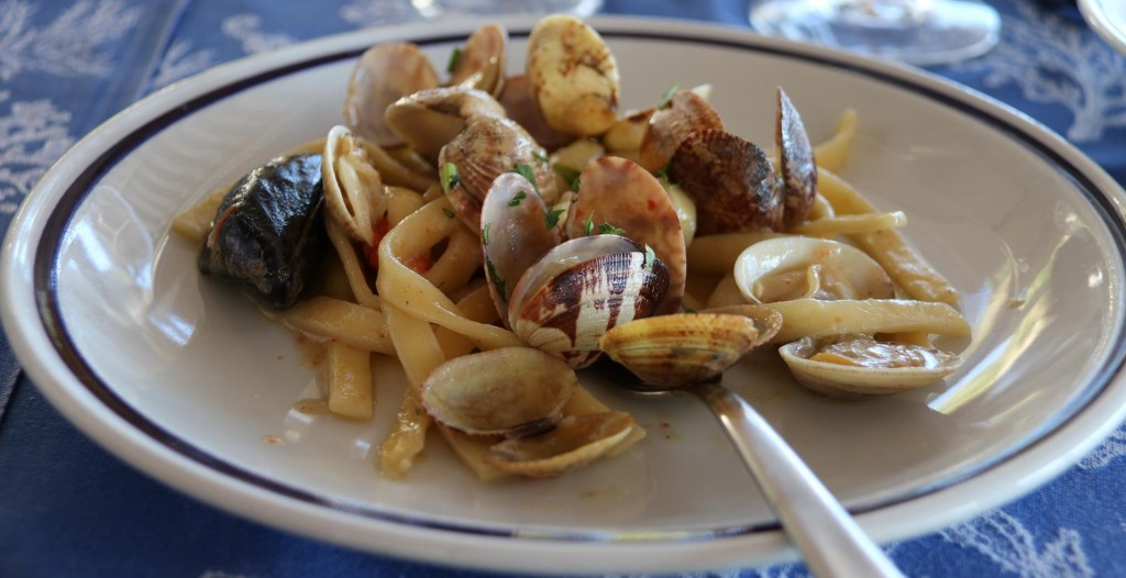 A couple of seafood pasta dishes were ordered also which were delicious