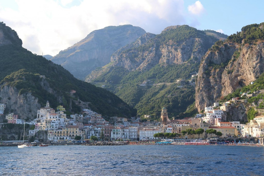 In 2003 we spent a few days staying in Amalfi with our friends Rod and Kate