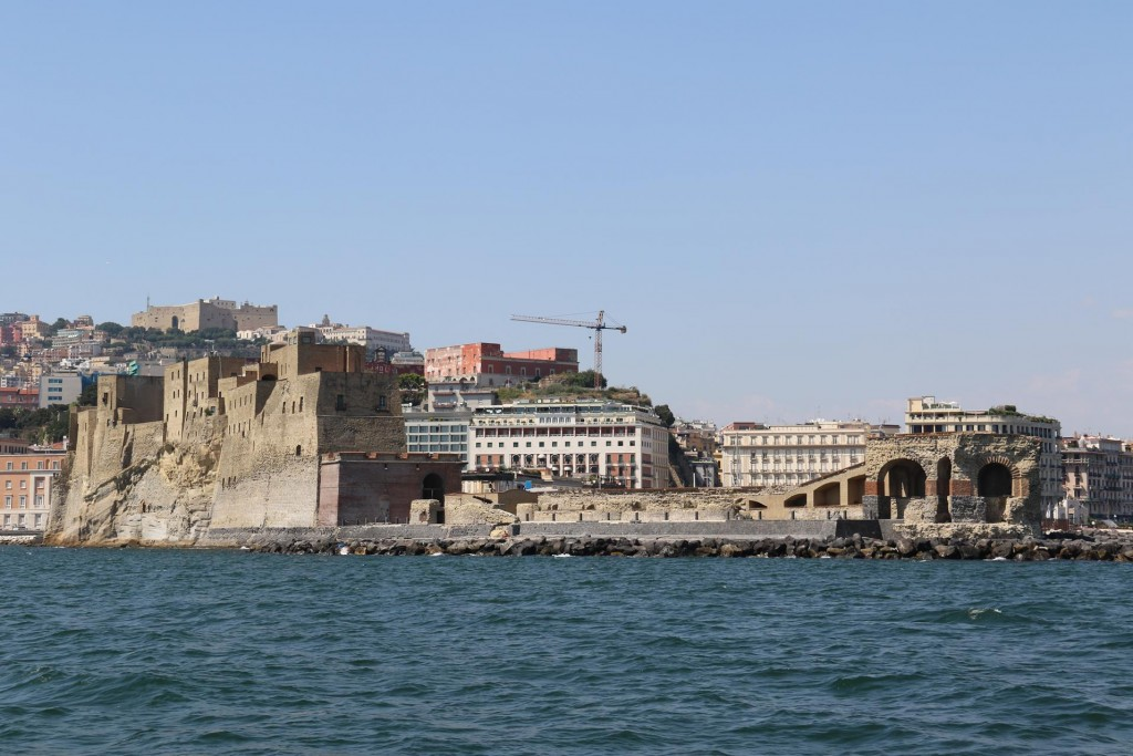 The Santa Lucia district of Naples