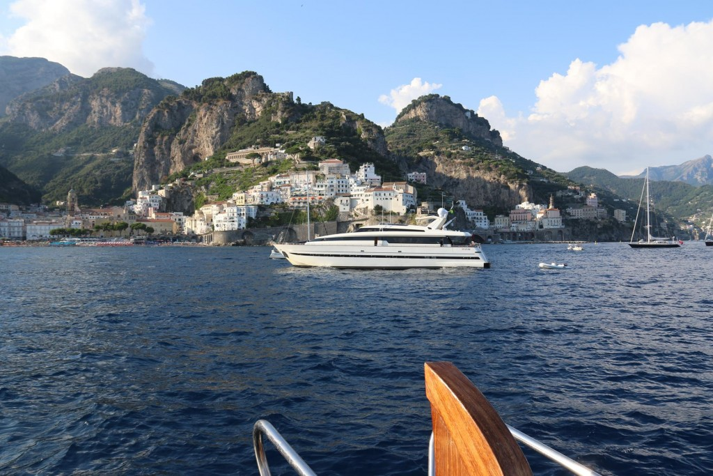 The Amalfi Coast has always been one of the busiest tourist areas of Italy