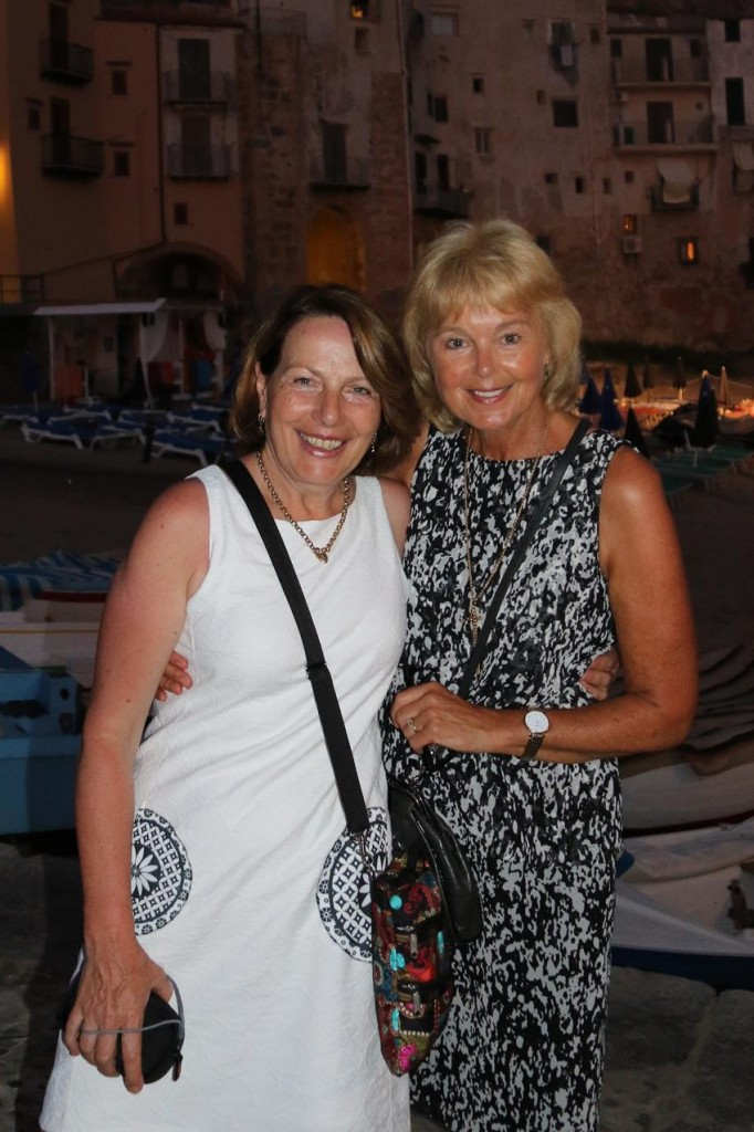 It is great to have my dear friend Susie spending some time with me aboard the boat