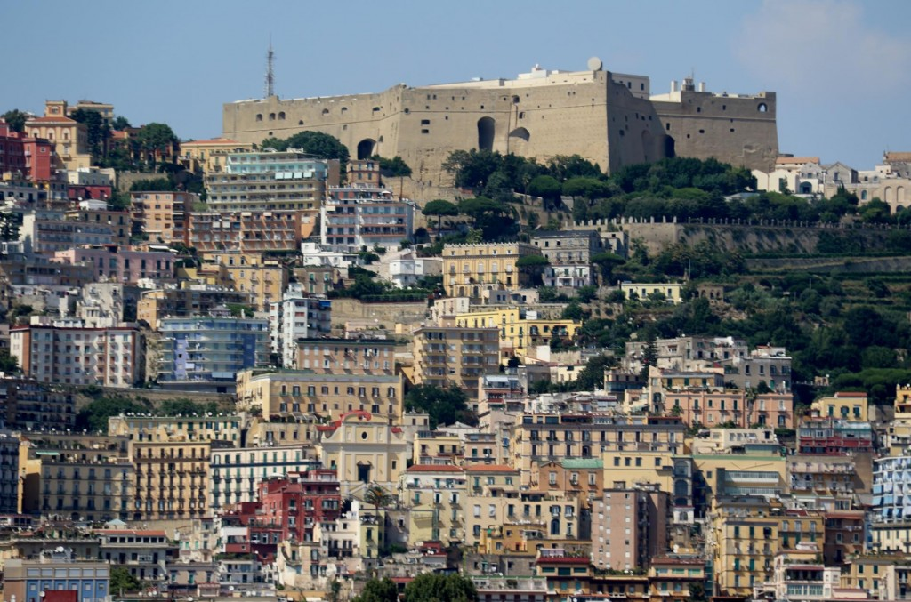 Castel Sant'Elmo the medieval fortress overlooking Naples