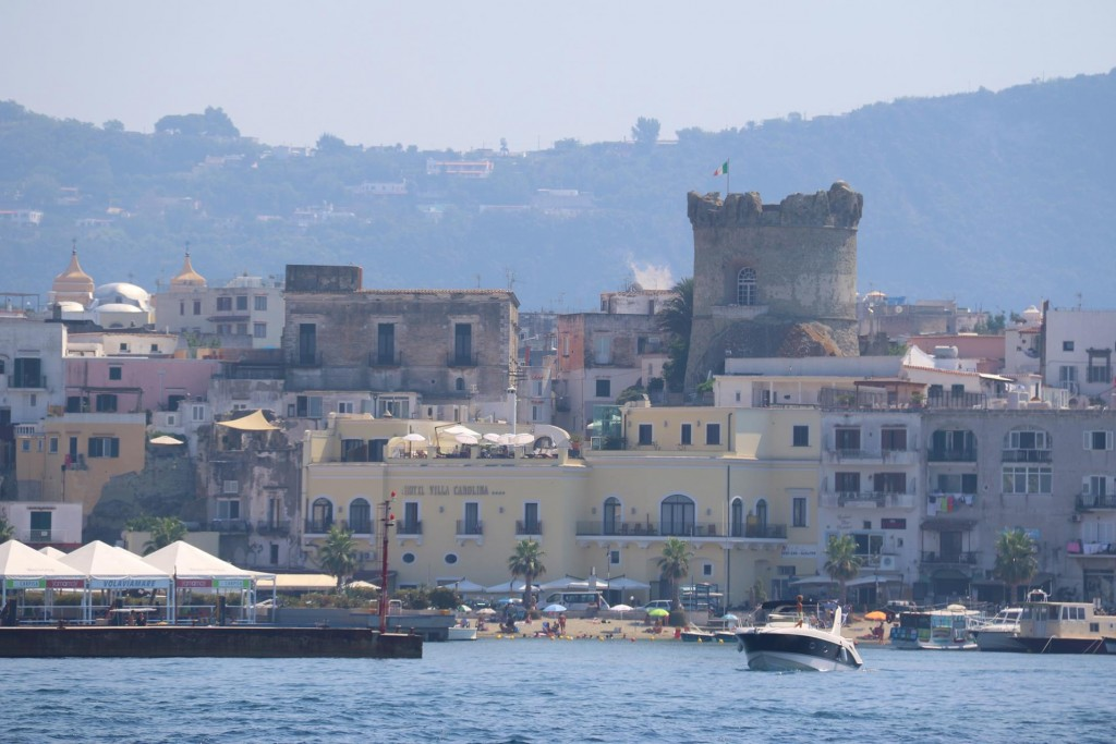We continue on past the old port of Forio d'Ischia