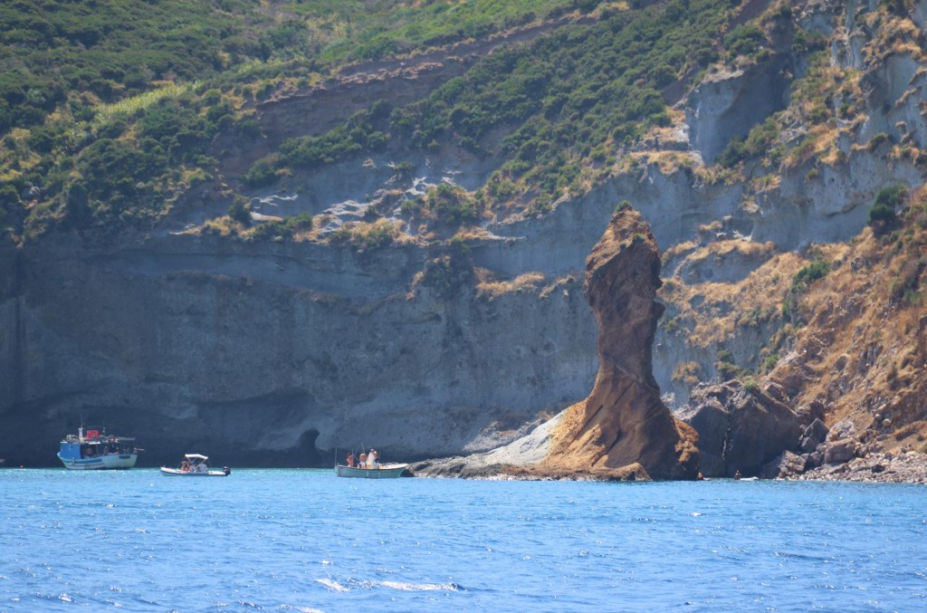 Another unusual rock formation in the beautiful bay