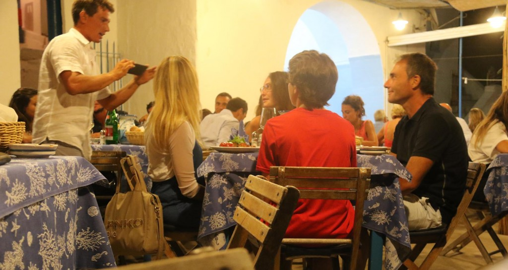 Maria Grazia Restaurant is always busy both at lunch and dinner