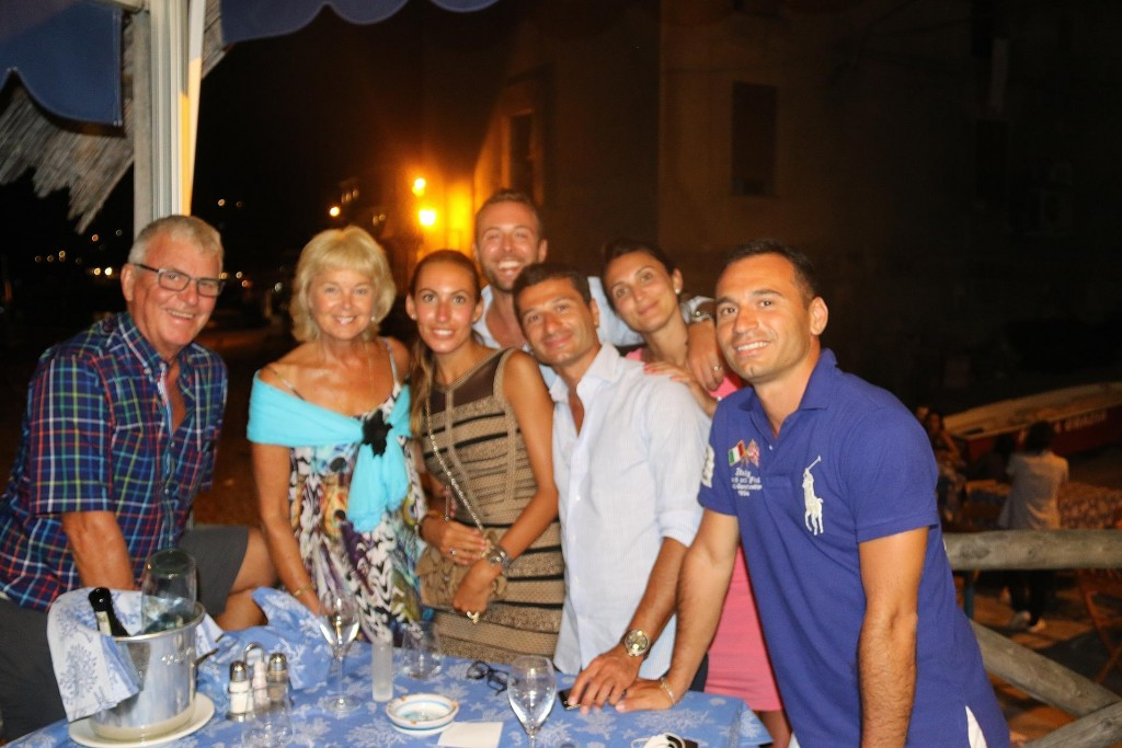 It was great to catch up with Marco and his friends again, who happen to be dining at Maria Grazia tonight