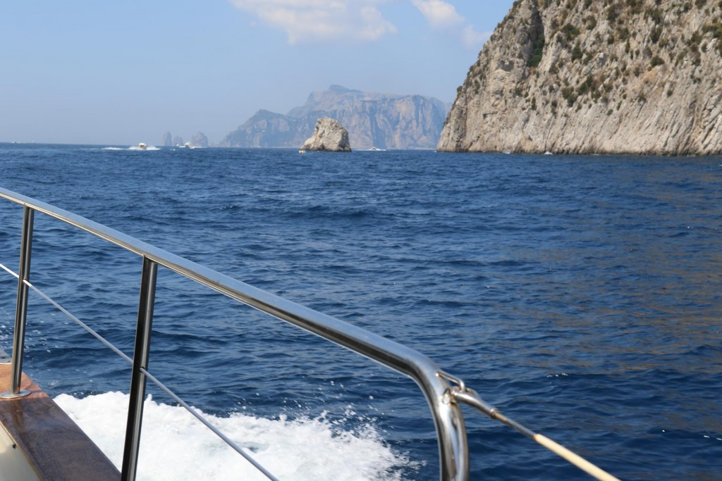 Continuing west along the Sorrento Peninsular we approach Punta Campanella