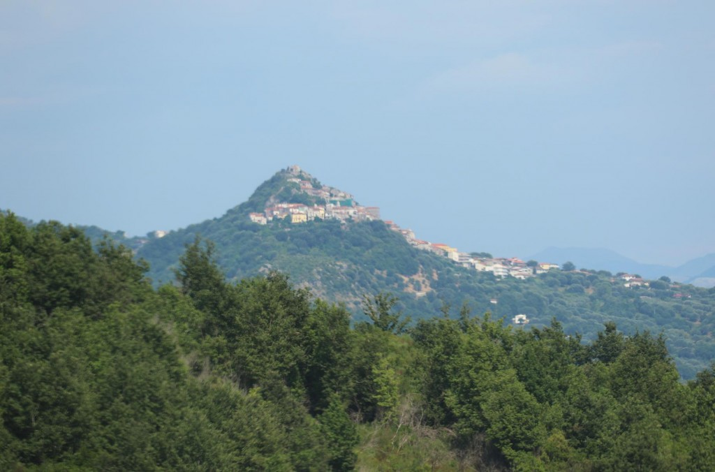 Continuing on from Montana we head south east to the hilltop town of Roccagloriosa