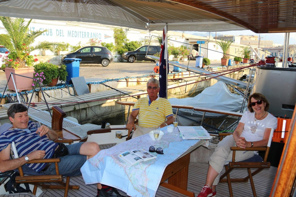 It is so nice to have Don and Susie come and join us on the boat for a while