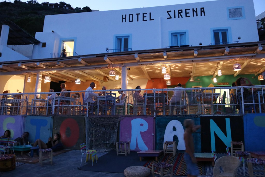 We heard on the grapevine that the restaurant called La Sirena was quite good