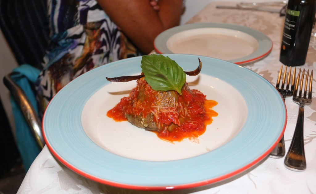 The most amazing aubergine dish we have ever tried!!!