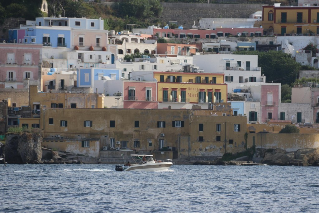We arrive back to Ponza town