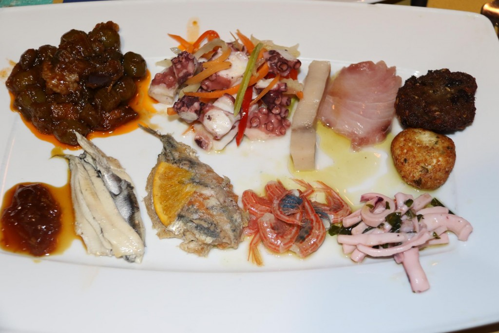 We all were quite surprised how fresh and tasty the starters were when they arrived at the table