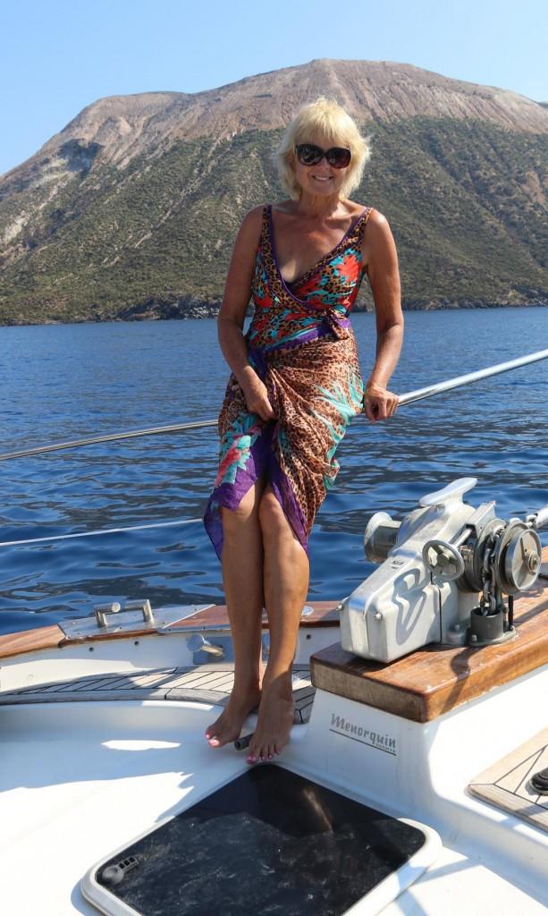 We plan to spend the night on Vulcano Island in Porte di Levante